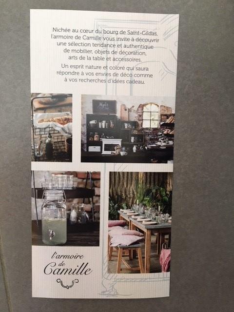 Ouverture d\'une boutique L\'Armoire de Camille à SAINT GILDAS DE ...